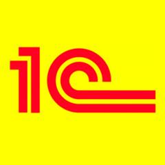Логотип -системы 1С:Предприятие. Фитнес клуб