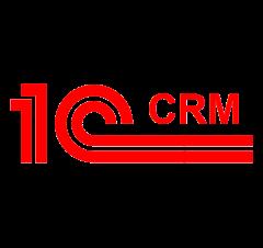 Логотип CRM-системы 1С:CRM