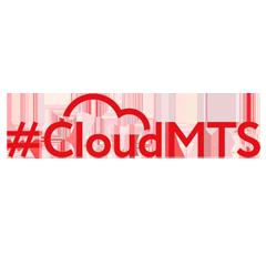 Логотип -системы #CloudMTS CDN