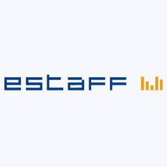 Логотип -системы E-Staff Рекрутер