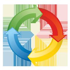 Логотип CRM-системы ELMA CRM+
