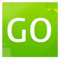 Логотип IoT AEP-системы Go+ Platform