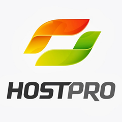 Логотип -системы HostPro