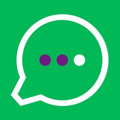 Логотип -системы МегаФон Рекрутика