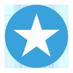 Логотип Mention