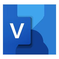 Логотип Microsoft Visio