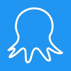 Логотип AI-системы Octoparse