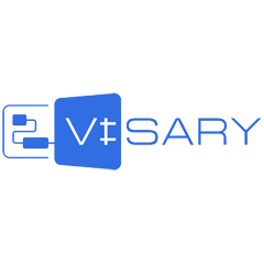 Логотип Visary Платформа