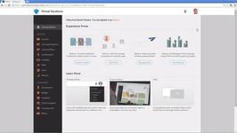 Главная страница в системе управления обучением Adobe Captivate Prime