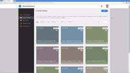 Каталог курсов в системе дистанционного обучения Adobe Captivate Prime