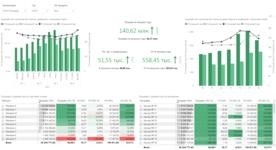 Отчёт по организации по типу продукта в аналитическом онлайн-сервисе Business Scanner