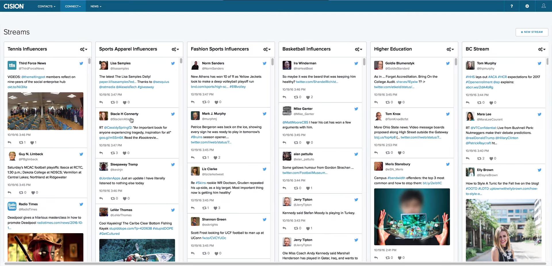 Тематический медиа-анализ СМИ и социальных сетей в интернет-сервисе Cision Communications Cloud