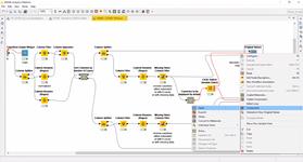 Моделирование социальных и биологических явлений в системе анализа данных KNIME Analytics Platform