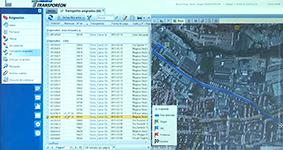 Перечень транспортных маршрутов в системе управления цепями поставок Transporeon