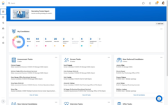 Просмотр сводной информации о кандидатах в программном продукте Workday HCM