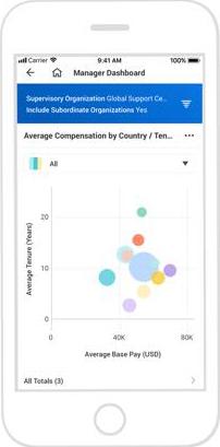 Аналитика по заработным платам в облачной системе управления персоналом Workday HCM