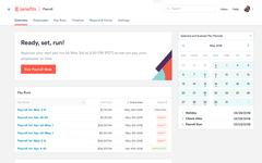 Просмотр календаря выплат в облачном HRM-сервисе Zenefits