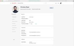 Профиль сотрудника в программном продукте для управления персоналом Zenefits