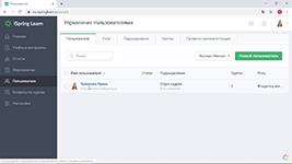 Управление пользователями в программной LMS-системе iSpring Learn